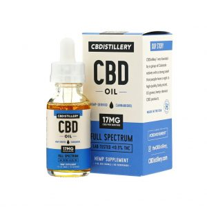 Full Spectrum CBD Oil – 500mg