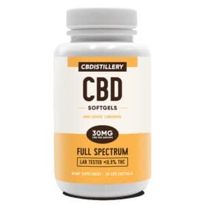 Full Spectrum CBD Capsules – 900mg