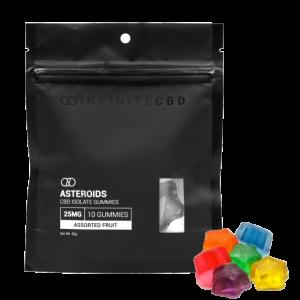 Pure CBD Gummies – 250 mg