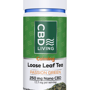 CBD Loose Leaf Tea (Passion Green Tea) – 250 mg