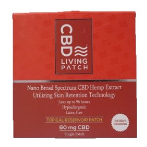 CBD Topical Patch – 60mg